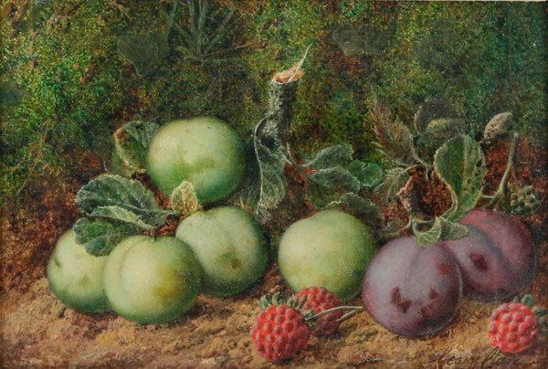 6: George Clare, Still Life with Fruit