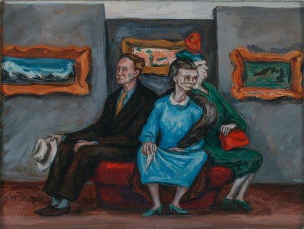 9: Julius Bloch, Untitled