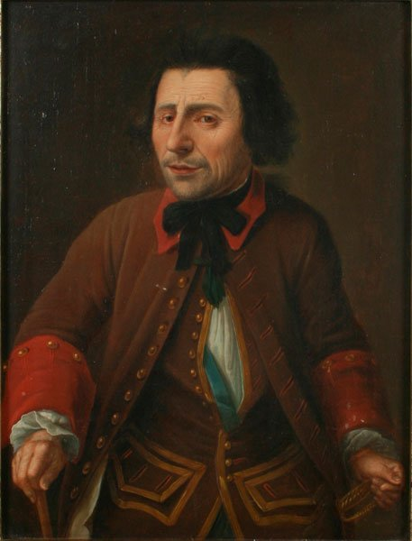 13: British School, Portrait of a Man