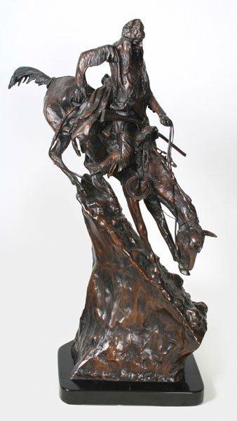 14: After Frederick Remington, Mountain Man