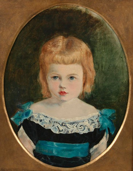 24: American School, Portrait of a Young Girl