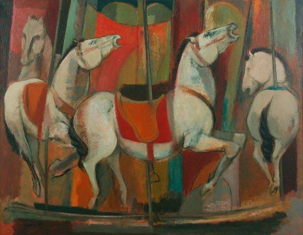 83: Frederick Gill, Merry-go-round