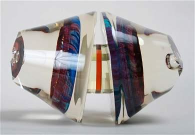 201: Michael Pavlik, Art Glass Sculpture