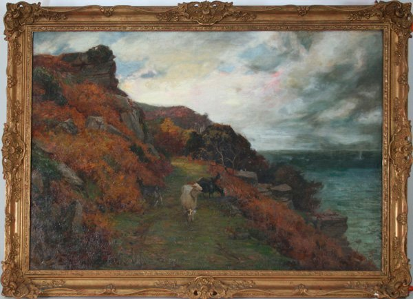 20: John William Schofield, Landscape with Goats