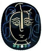 189: Pablo Picasso, Visage de Femme