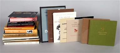 50: Group of 18 books and catalogs