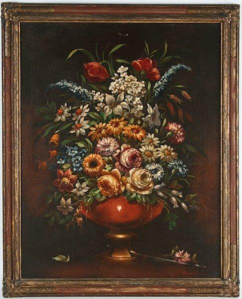 3: Pierre Pavone, Floral Still Life