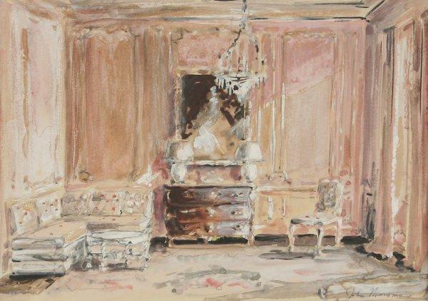 8: John Marsman, Interior Scene