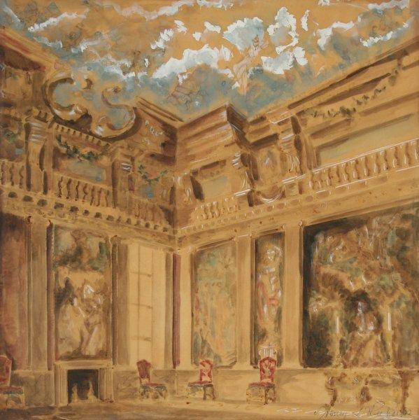 9: Henry Richards, Baroque Interior