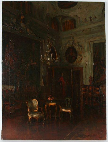 11: Ralph R. Latimer, Sala del Palazzo Barbaro