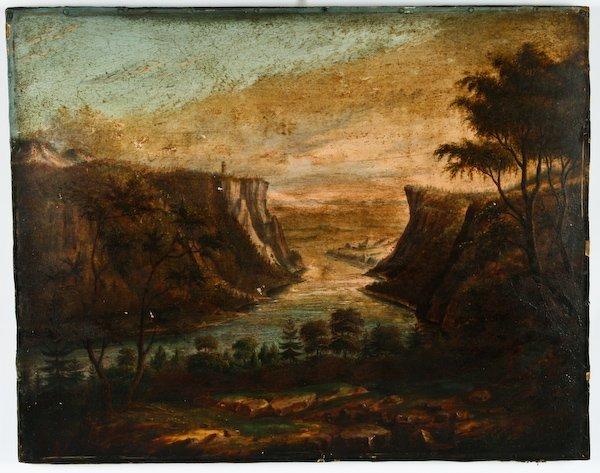 12: Hudson River School, Landscape