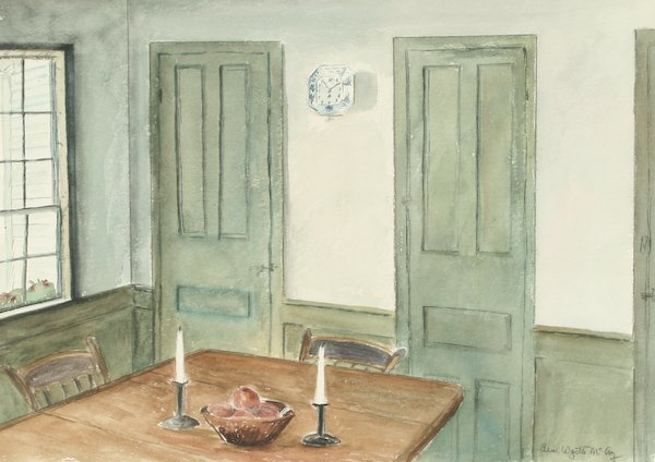 13: Ann Wyeth McCoy,  Dutch Clock