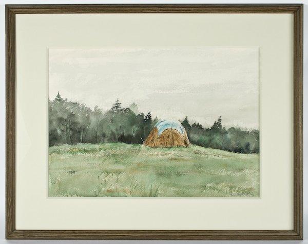 23: Ann Wyeth McCoy, Untitled (Haystack)