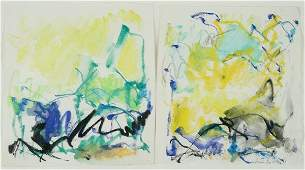 66: Joan Mitchell, Diptych