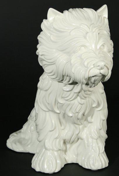 121: Jeff Koons, Puppy (Vase)