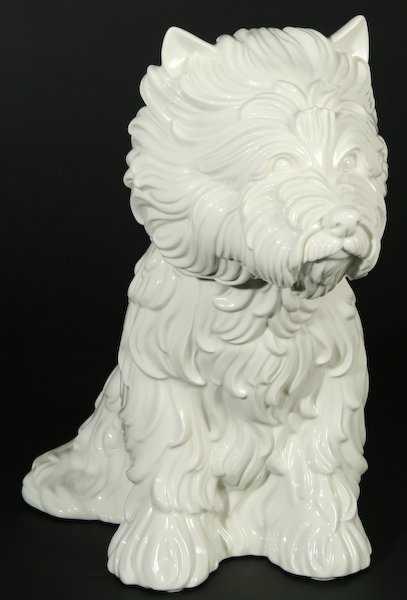 121 Jeff Koons Puppy Vase