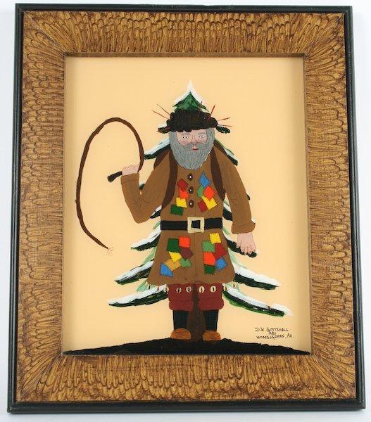 1: David Gottshall, Folk Art Belsnickle