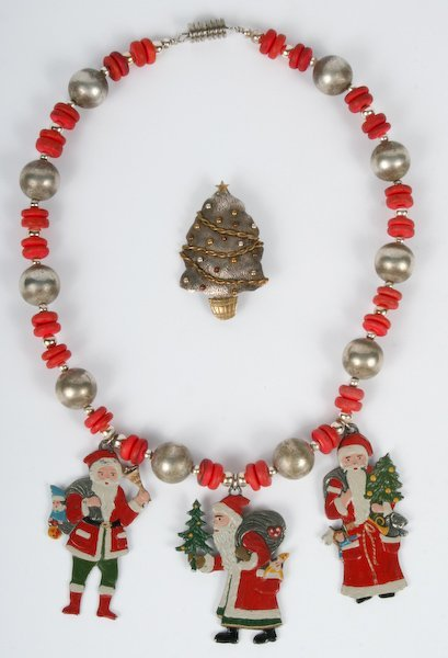 7: Pewter and Sterling Christmas Accessories