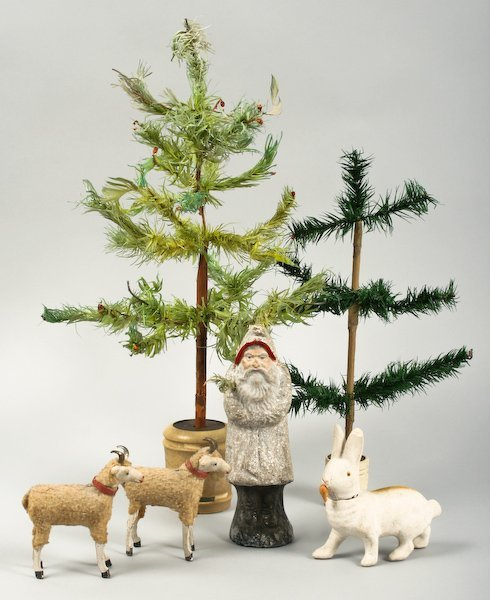 8: Collection of Holiday Figurines