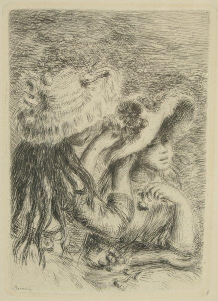 10: Pierre-Auguste Renoir, Le chapeau épinglé