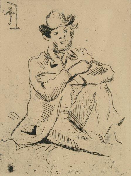 12: Paul Cézanne, Guillaumin au pendu