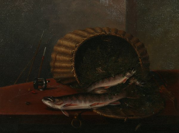 13: J.W. Thomas, Still Life with Fish