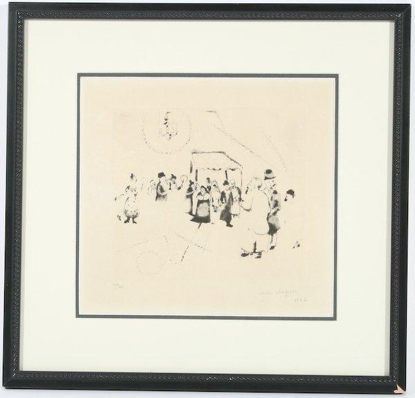 15: Marc Chagall, Hochzeit (from Mein Leben)