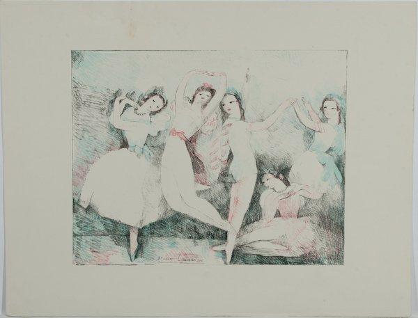 22: After Marie Laurencin, Fêtes de la Danse