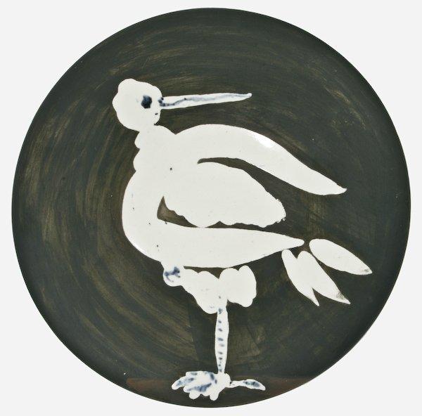 24: Pablo Picasso, Oiseau no. 82