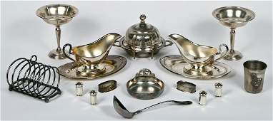 212 Sterling and Silver Plated Tableware