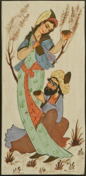 Persian Painting on Ivory