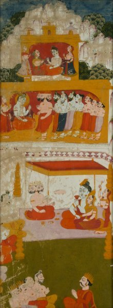 18th Century Northern Indian  watercolor
