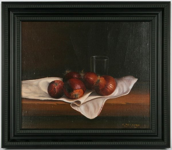 M. Desmedt, Still Life with Onions