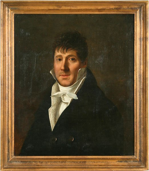 Gustav de Galard,  Portrait of a Gentleman