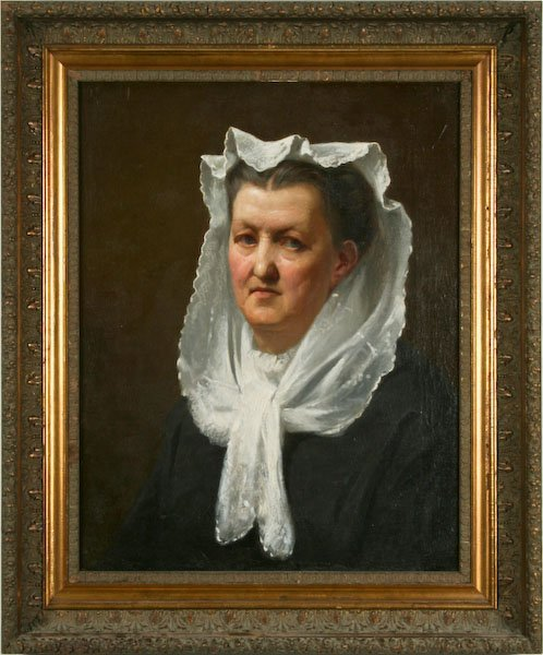 Attributed to Jacob Eichholtz, Portrait of a Lady