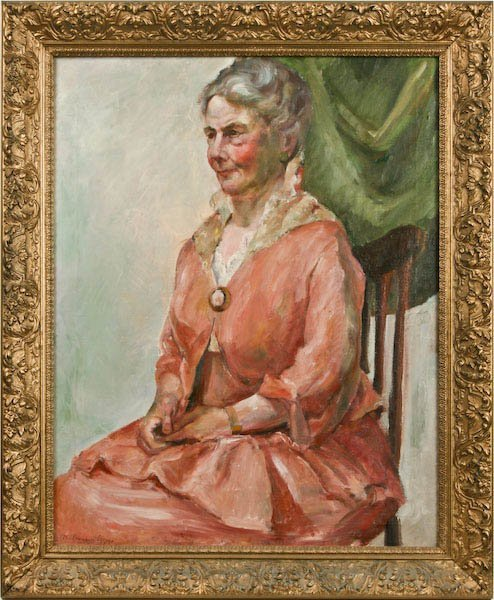 Colin Campbell Cooper, Lady in Pink