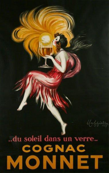 Leonetto Cappiello, Cognac Monnet Poster