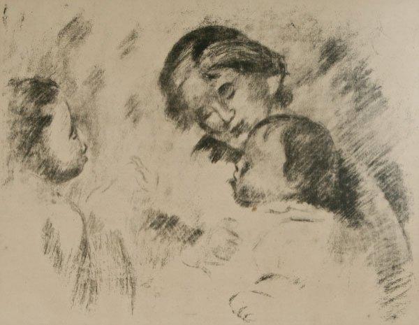 Pierre-Auguste Renoir, Une mère et deux enfants