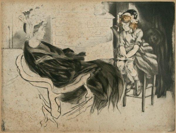 Jacques Villon, Le Chef d'oeuvre, 1907