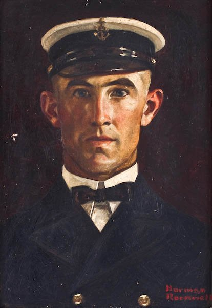 Norman Rockwell, Chief Petty Officer LeRoy Evans - 2