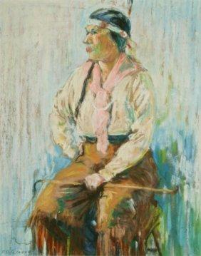 Albert Van Nesse Greene, Native American Figure