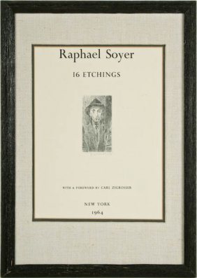 Raphael Soyer, 16 Etchings