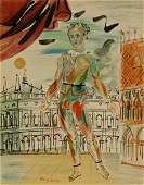 After Raoul Dufy, Paris Exhibition Poster