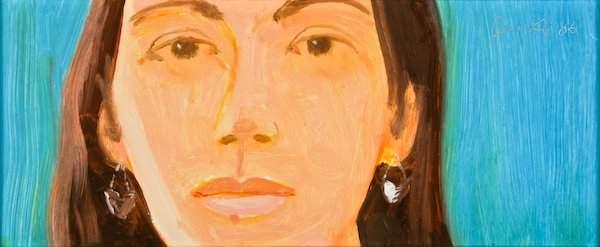 Alex Katz, Study for Corinne, 2006