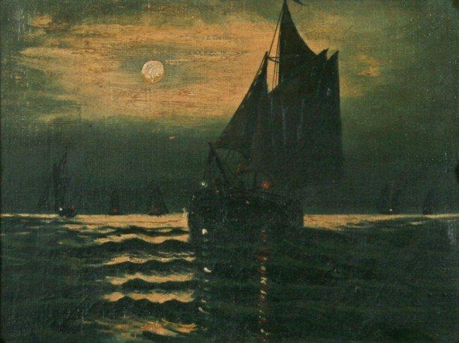 Georges Maroniez, oil on canvas