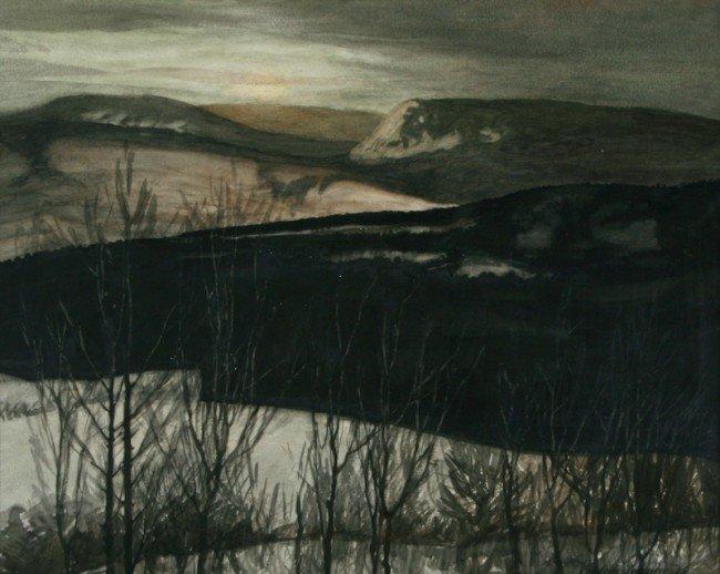 Frederic Tellander, Untitled (Landscape)