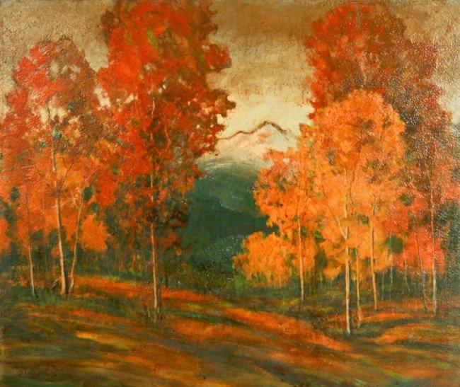David Stirling, Autumn Day, Estes Park (Colorado)