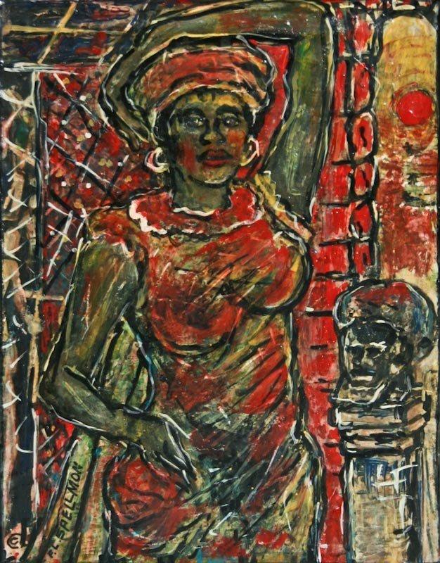 F.L. Spellmon, Untitled (Woman Standing)