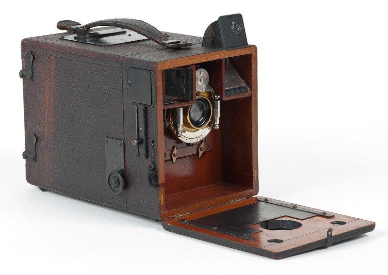 British Made Magazine Plate Camera
