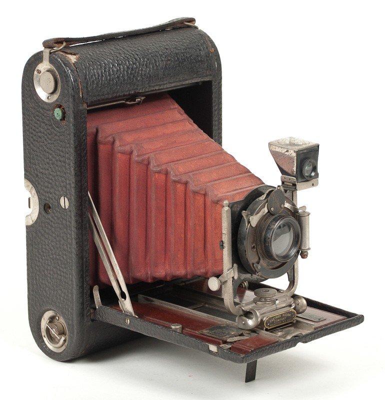 Kodak No. 4 Folding Pocket Roll Film Camera Model A